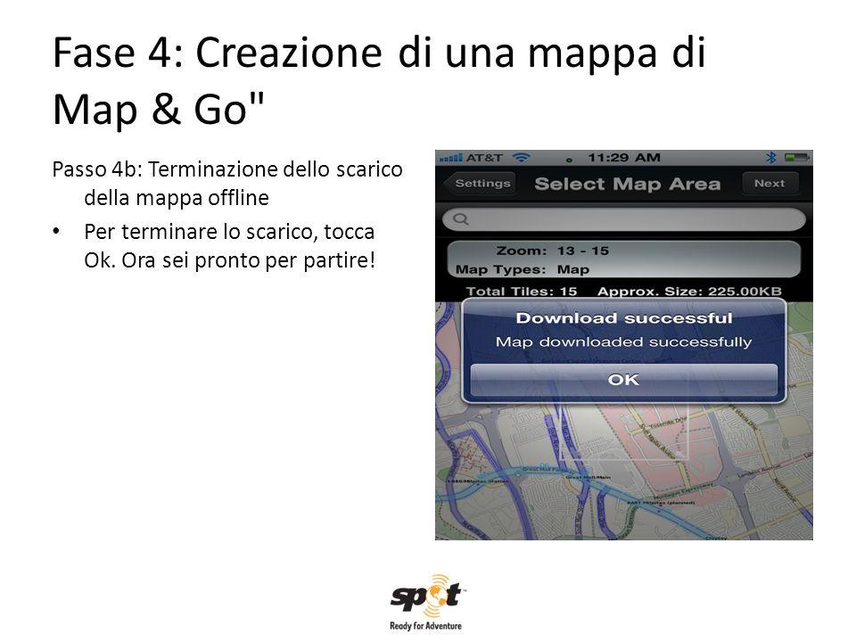 Fase 4: Creazione di una mappa di Map & Go