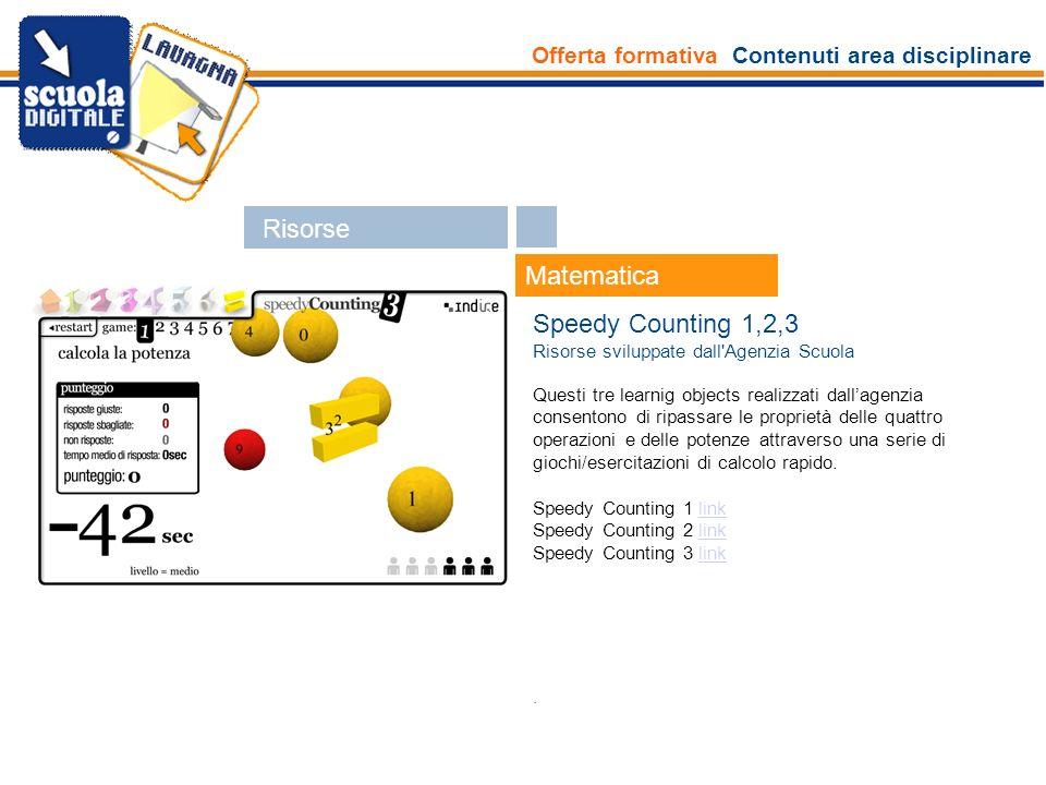 Offerta formativa Contenuti area disciplinare Esperti Matematica Dalle pavimentazioni ai quadrilateri Risorsa interna Un learning object realizzato dallagenzia per scoprire le corrispondenze geometriche intorno a noi ed approfondire le caratteristiche dei quadrilateri.