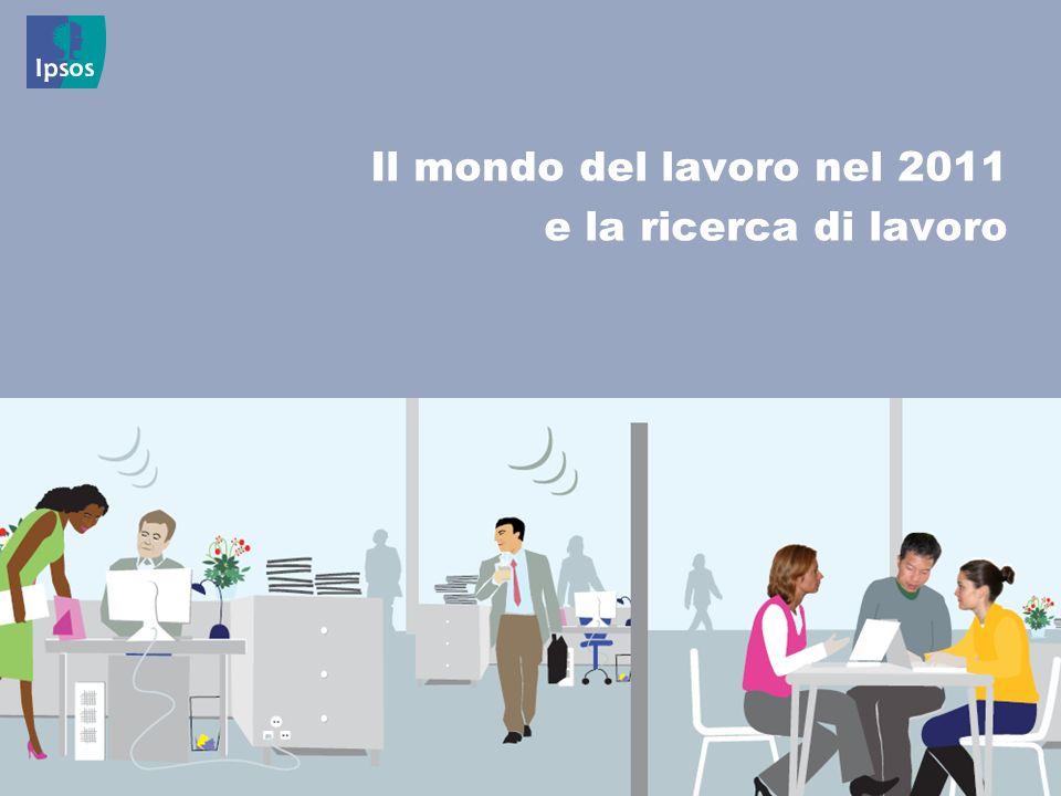 6 © 2011 Ipsos Il mondo del lavoro nel 2011 e la ricerca di lavoro