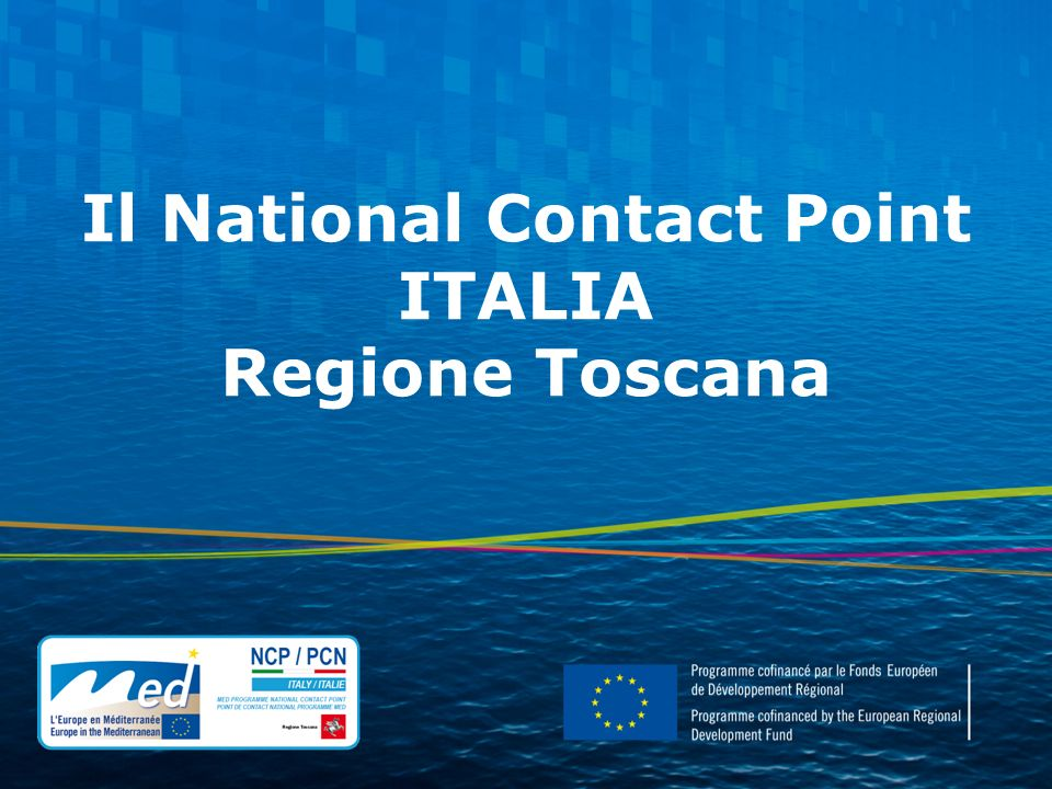 Il National Contact Point ITALIA Regione Toscana