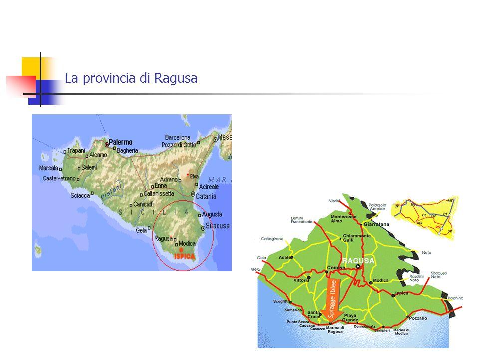 La provincia di Ragusa