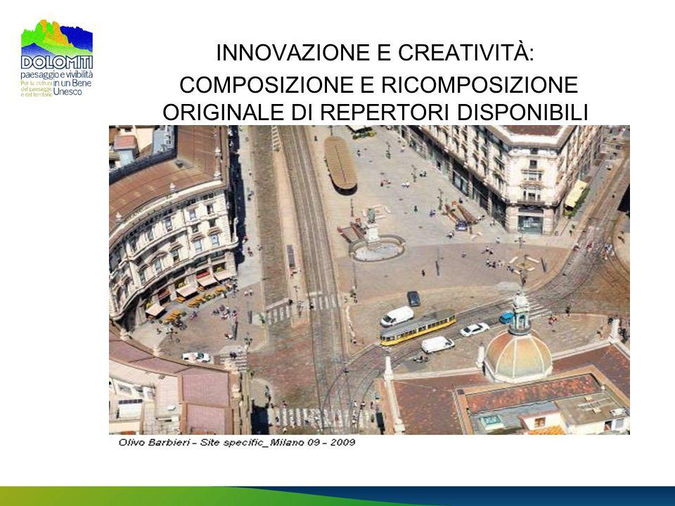 INNOVAZIONE E CREATIVITÀ: COMPOSIZIONE E RICOMPOSIZIONE ORIGINALE DI REPERTORI DISPONIBILI