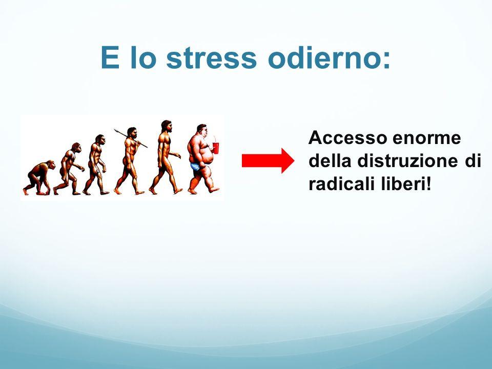 Accesso enorme della distruzione di radicali liberi!