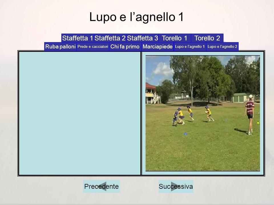 Torello 2 Successiva Ruba palloniChi fa primoMarciapiede Lupo e lagnello 1Lupo e lagnello 2Prede e cacciatori Staffetta 1Staffetta 2Staffetta 3Torello