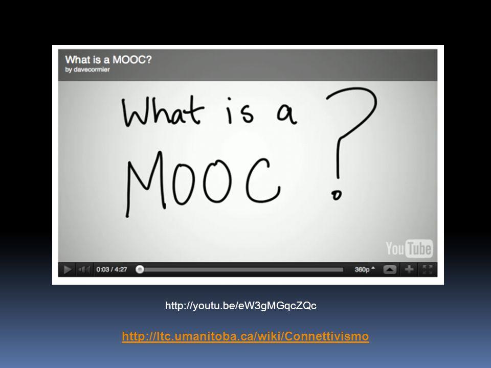 http://youtu.be/eW3gMGqcZQc http://ltc.umanitoba.ca/wiki/Connettivismo