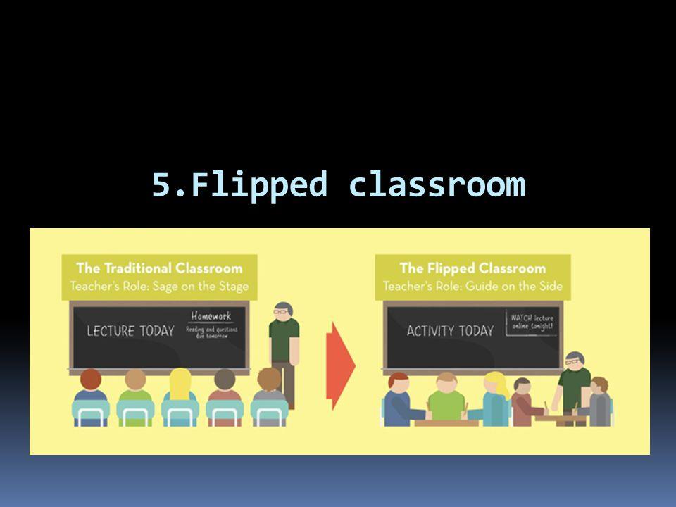 5.Flipped classroom