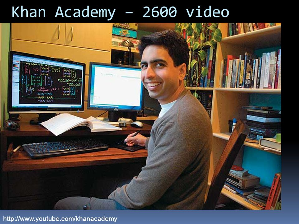 Khan Academy – 2600 video