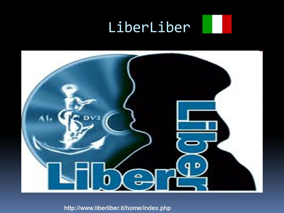 LiberLiber http://www.liberliber.it/home/index.php