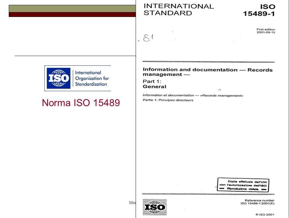 Monica Martignon Norma ISO 15489