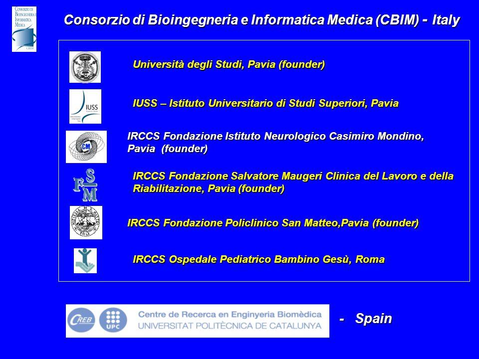 IRCCS Fondazione Salvatore Maugeri Clinica del Lavoro e della Riabilitazione, Pavia (founder) Università degli Studi, Pavia (founder) IRCCS Fondazione
