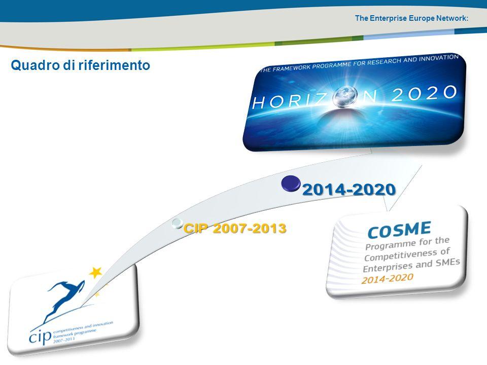 The Enterprise Europe Network: Quadro di riferimento