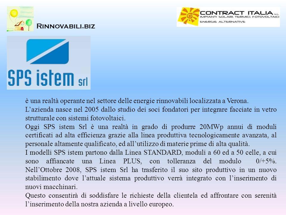 è una realtà operante nel settore delle energie rinnovabili localizzata a Verona. Lazienda nasce nel 2005 dallo studio dei soci fondatori per integrar