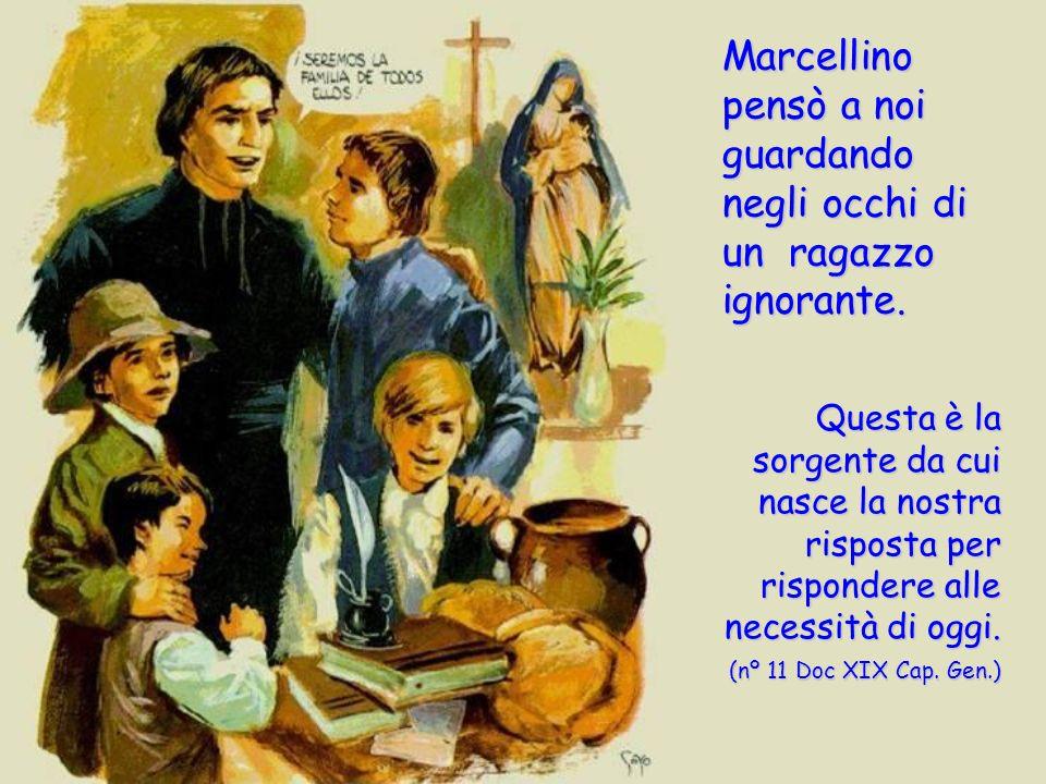 che ascolta e accoglie le persone; che annuncia la Buona Notizia di Gesù; amico dei bambini e dei giovani; educatore comprensivo ed esigente; creativo