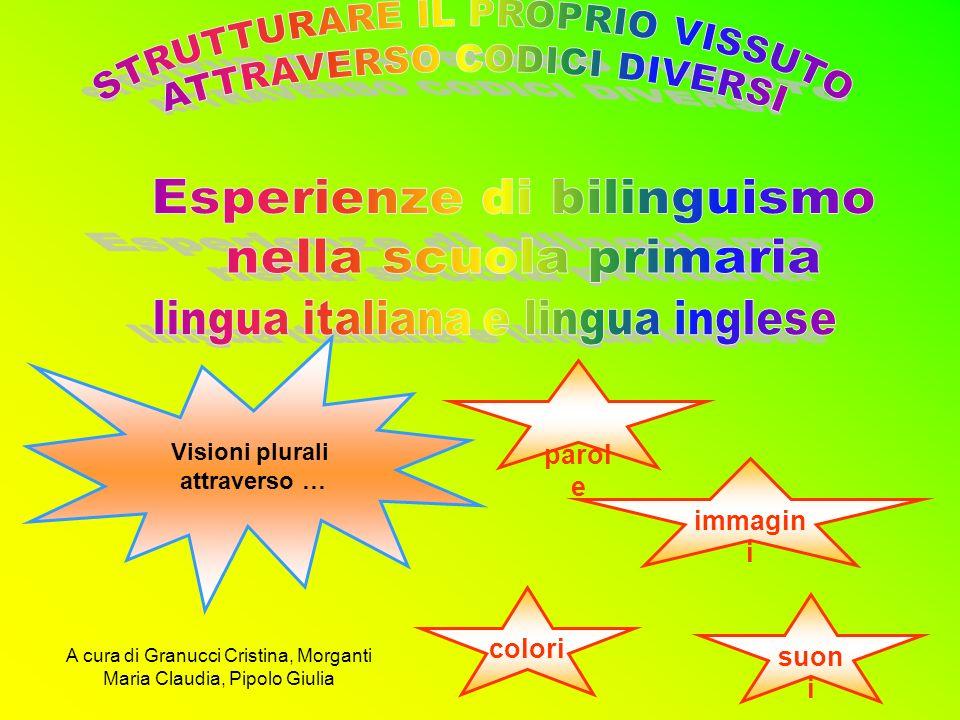 Visioni plurali attraverso … parol e immagin i colori suon i A cura di Granucci Cristina, Morganti Maria Claudia, Pipolo Giulia