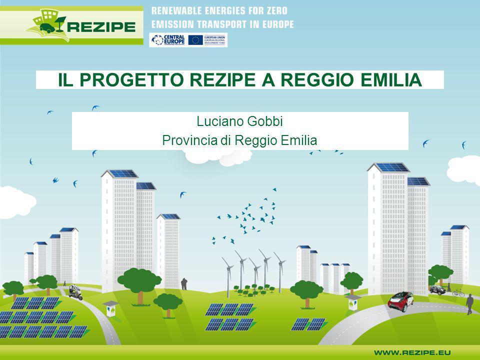 IL PROGETTO REZIPE A REGGIO EMILIA Luciano Gobbi Provincia di Reggio Emilia