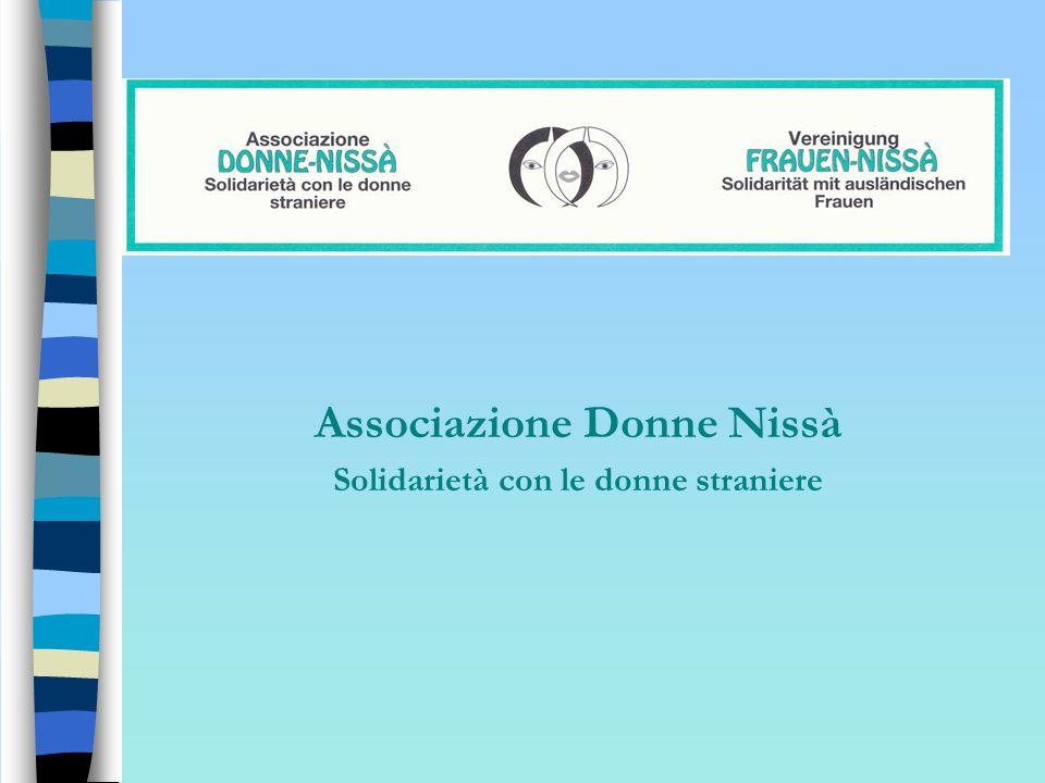 Associazione Donne Nissà Solidarietà con le donne straniere