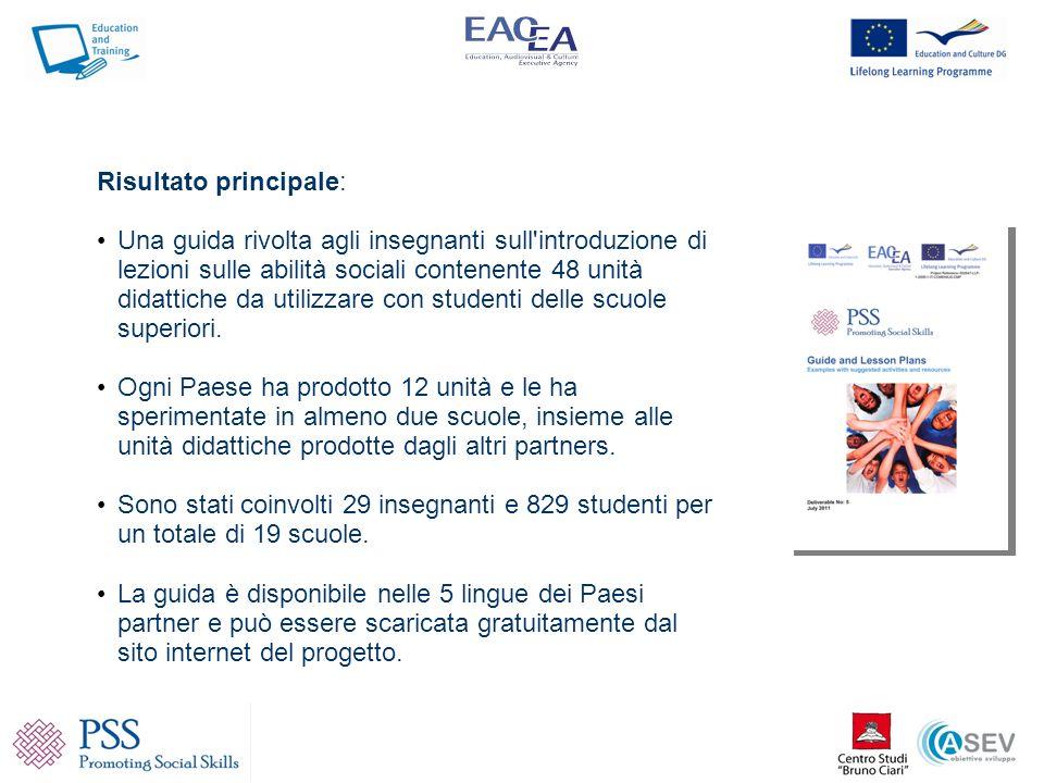 Studenti italiani......e studenti bulgari durante la sperimentazione delle unità didattiche della guida del progetto