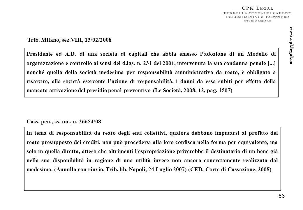 62 6. Il Modello deve prevedere espressamente la comminazione di sanzione disciplinare nei confronti degli amministratori, direttori generali e compli
