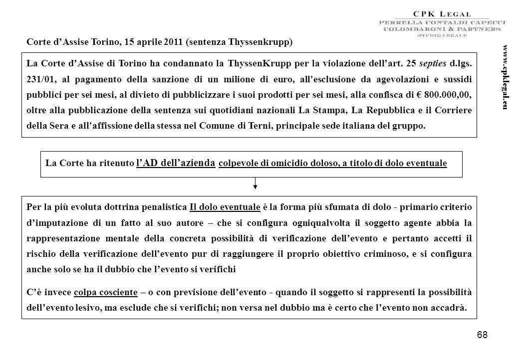 67 L'abrogazione del delitto di falsità nelle relazioni o nelle comunicazioni delle società di revisione previsto allart. 2624 cc (reato presupposto e