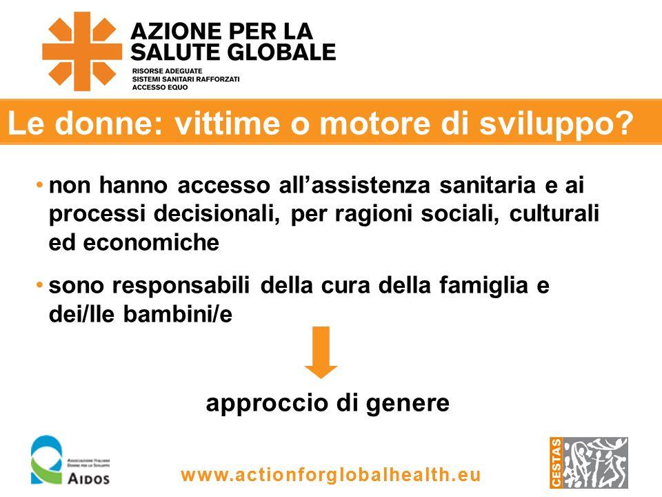 www.actionforglobalhealth.eu Soluzioni.