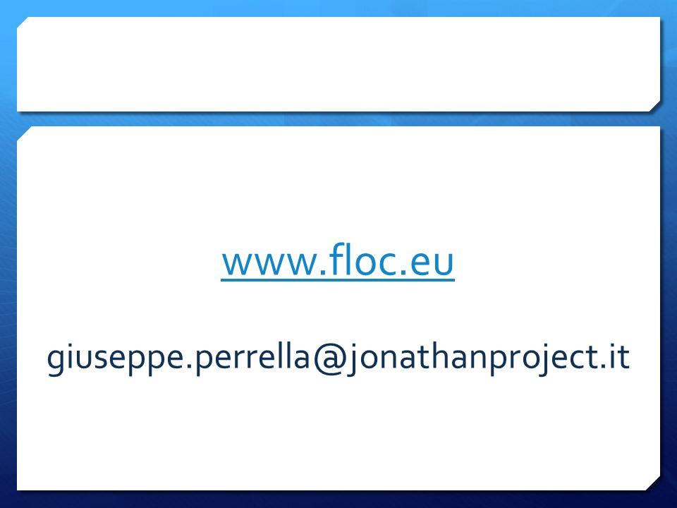 www.floc.eu giuseppe.perrella@jonathanproject.it