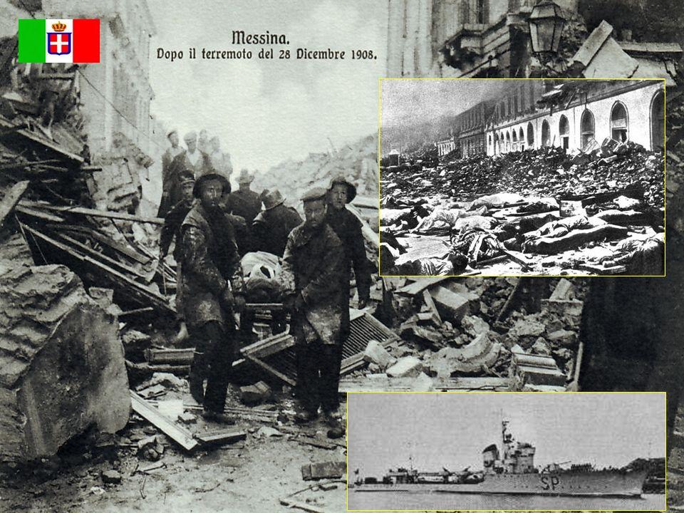 - Terremoto di Messina 1908 - - Terremoto di Messina 1908 - Nave Ospedale Campania Nave Ospedale Campania