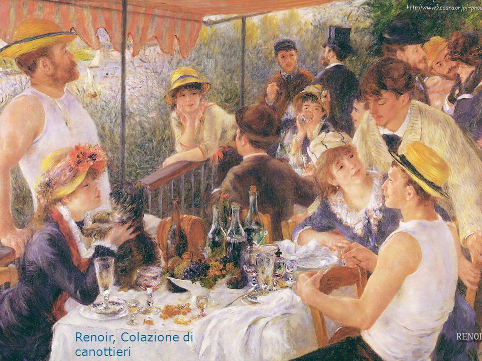 Renoir, Colazione di canottieri