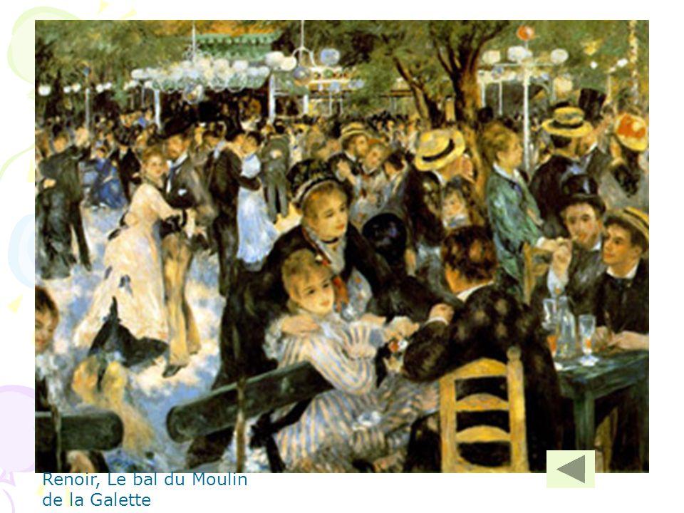 Renoir, Le bal du Moulin de la Galette