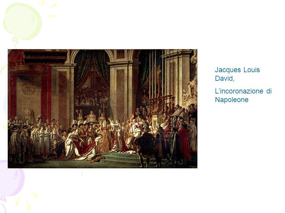 Jacques Louis David, Lincoronazione di Napoleone