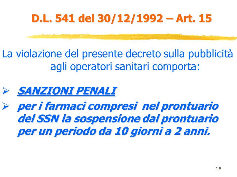 25 D.L. 541 del 30/12/1992 – Art. 13 ISFCAMPIONE+ SCHEDA TECNICA MEDICO