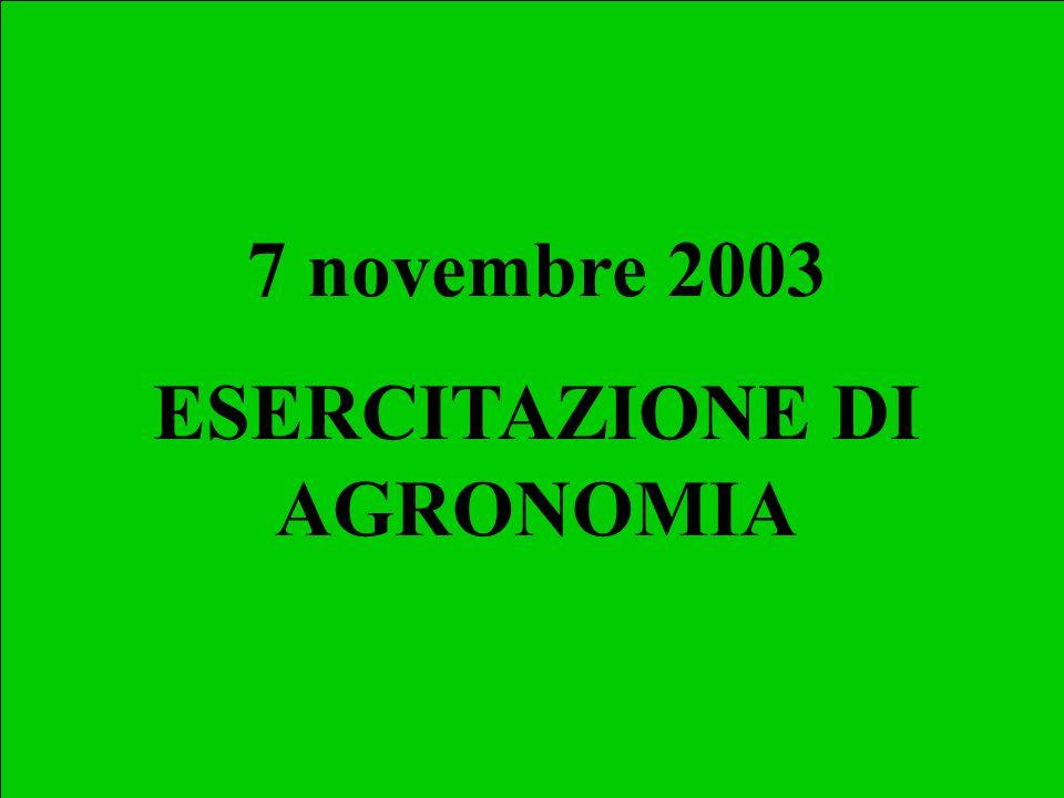 Esercizio 1 – Sostanza Organica I primi 0.25 m di un suolo hanno sostanza organica dell1.9%.