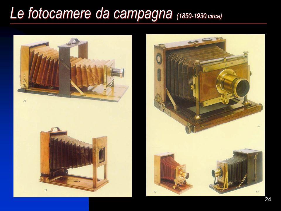 23 Le fotocamere da studio (1850-1930 circa)