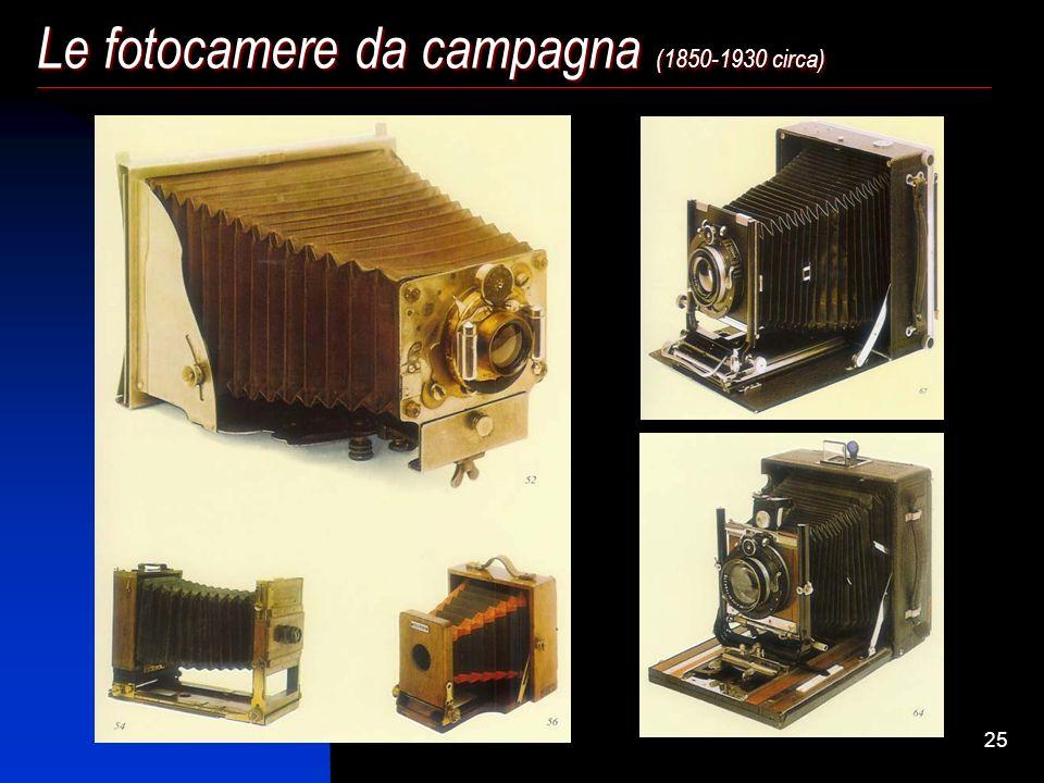 24 Le fotocamere da campagna (1850-1930 circa)