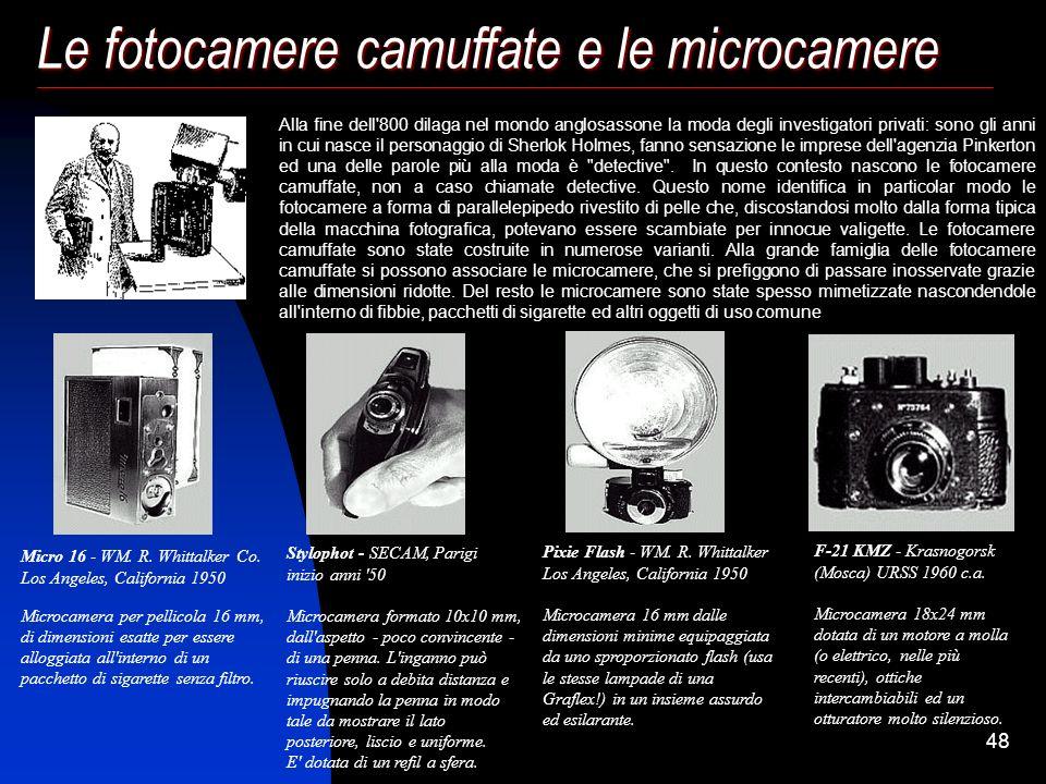 47 La nascita della Reflex autofocus (1981-1985) La 7000 raccoglie l'eredità della FS-1 e della ME-F, mette in discussione l'intero progetto della ref