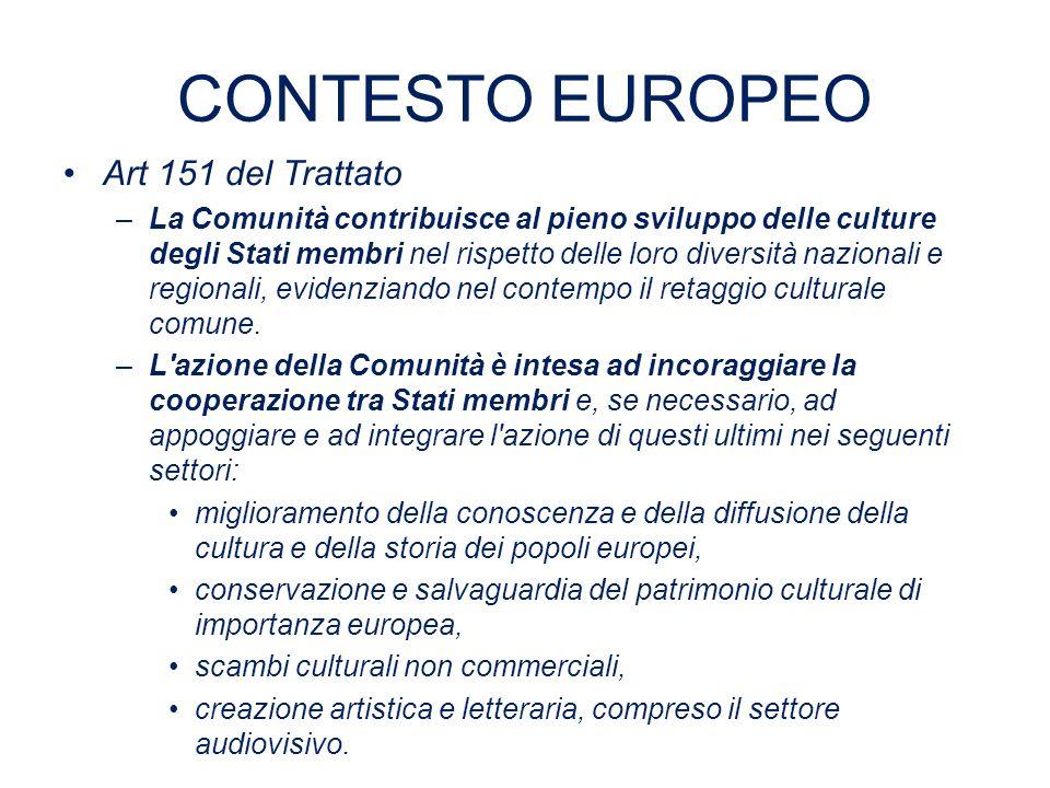CONTESTO EUROPEO II La strategia Europa 2020 proposta dalla Commissione ha come finalità quella di ricollocare l Europa in un percorso di crescita a lungo termine, con misure specifiche a sostegno della crescita intelligente, sostenibile ed inclusiva.