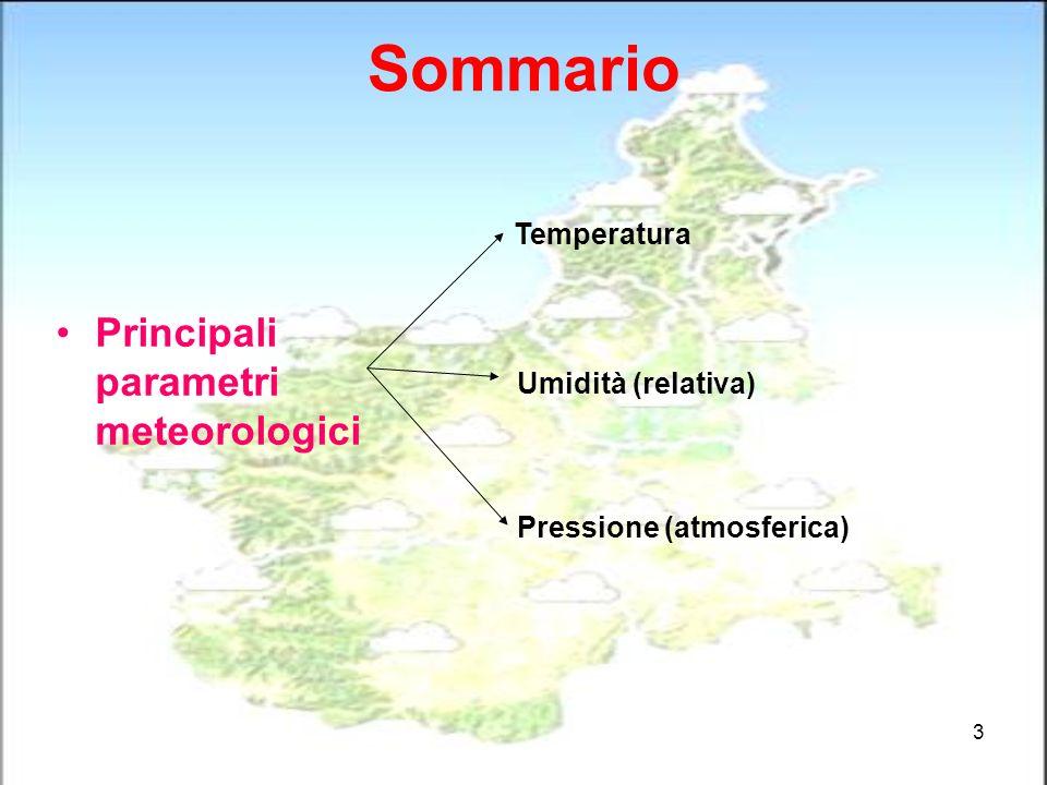 24 Mappe meteorologiche: temperatura al suolo