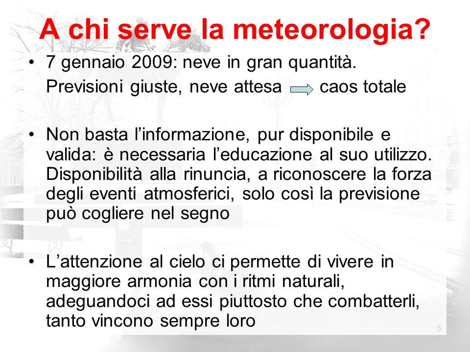6 Cosa bisogna fare per diventare meteorologi.