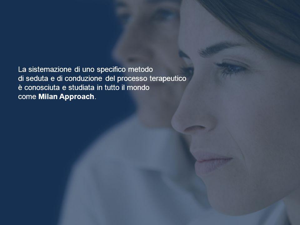 La sistemazione di uno specifico metodo di seduta e di conduzione del processo terapeutico è conosciuta e studiata in tutto il mondo come Milan Approa