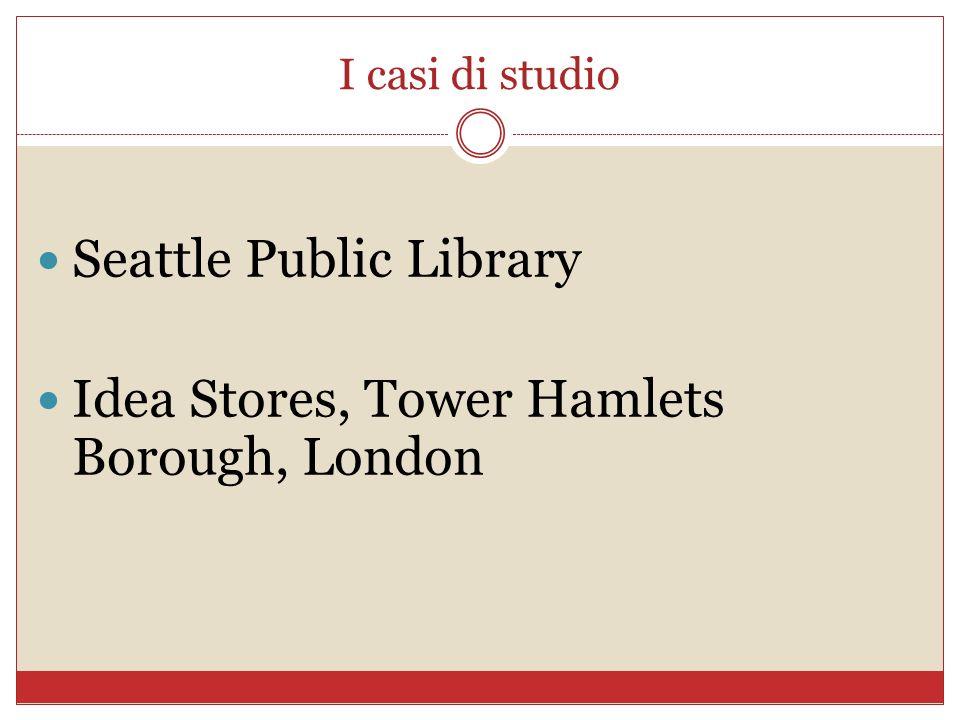I casi di studio Seattle Public Library Idea Stores, Tower Hamlets Borough, London