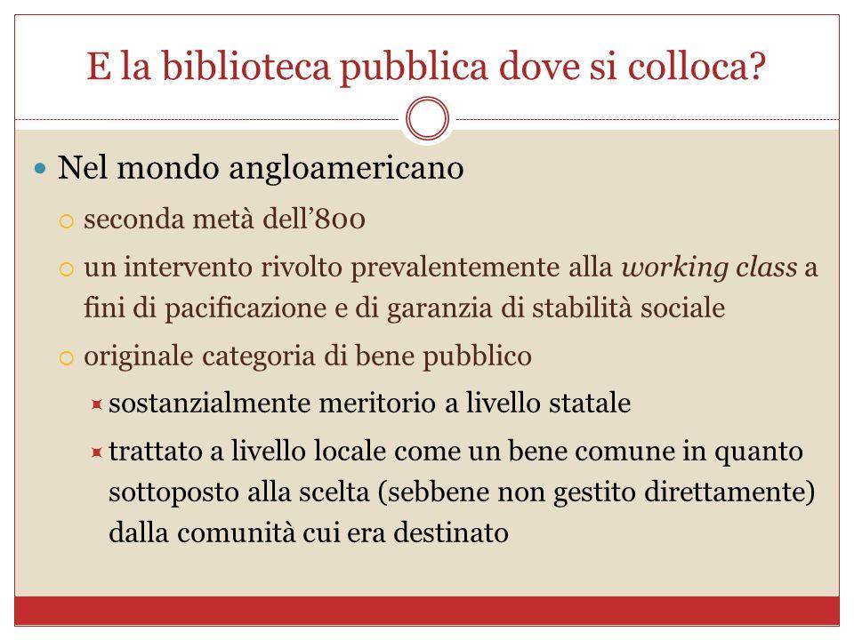Alcune domande che hanno posto a me Ha risposto qui Stefano Parise: http://tropicodellibro.it/notizie/biblioteche- aib/ http://tropicodellibro.it/notizie/biblioteche- aib/ La situazione italiana è diversa da quella degli altri paesi occidentali?