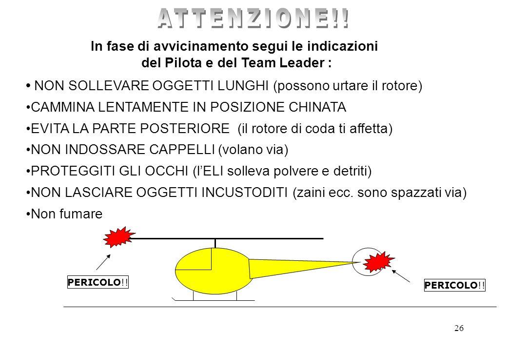 25 CELLULA ROTORE PRINCIPALE ROTORE di CODA TRAVE di CODA Struttura dell ELICOTTERO IL ROTORE DI CODA DI UN ELICOTTERO IN MOTO NON SI VEDE !! ATTENZIO