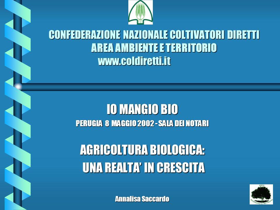 CONFEDERAZIONE NAZIONALE COLTIVATORI DIRETTI AREA AMBIENTE E TERRITORIO www.coldiretti.it CONFEDERAZIONE NAZIONALE COLTIVATORI DIRETTI AREA AMBIENTE E