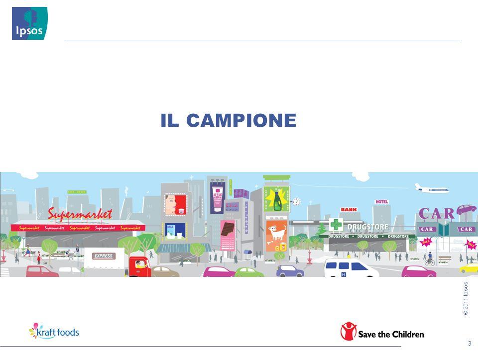 3 © 2011 Ipsos IL CAMPIONE