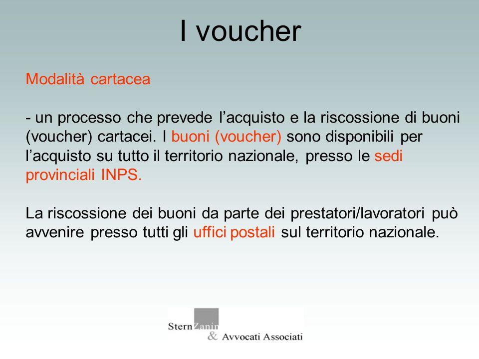 I voucher Modalità cartacea - un processo che prevede lacquisto e la riscossione di buoni (voucher) cartacei. I buoni (voucher) sono disponibili per l
