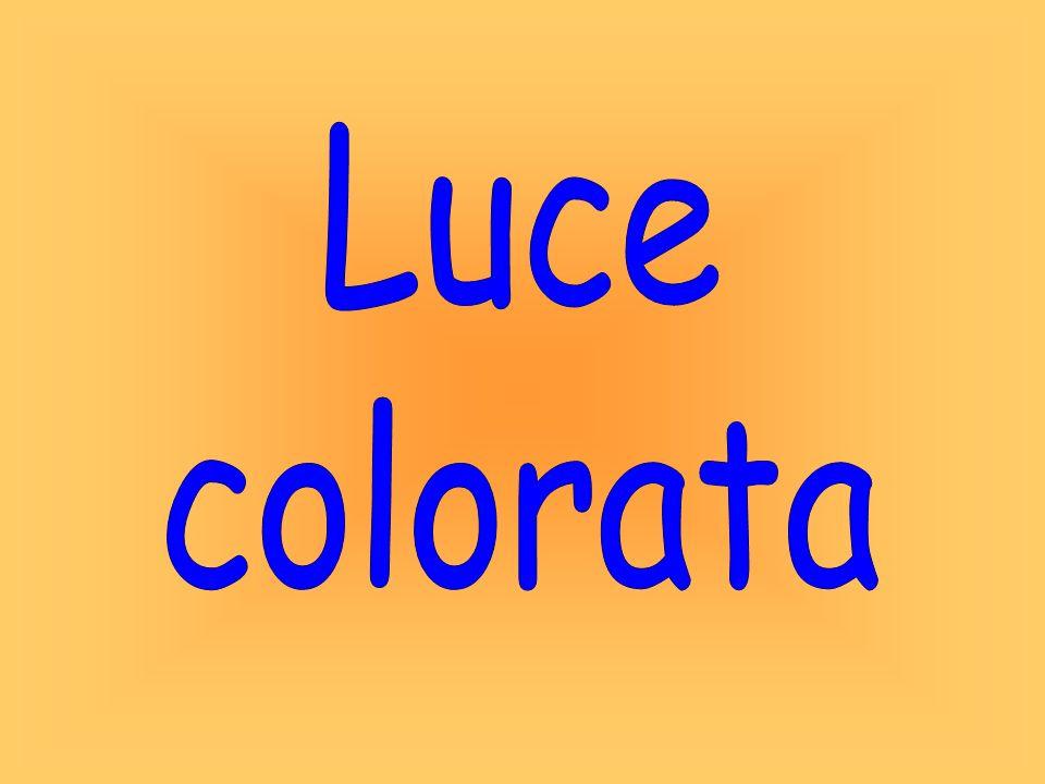 Dispersione della luce LEZIONI DI OTTICA per le scuole medie F.Menchini 2-8 Qual è il legame tra luce bianca e luce colorata?