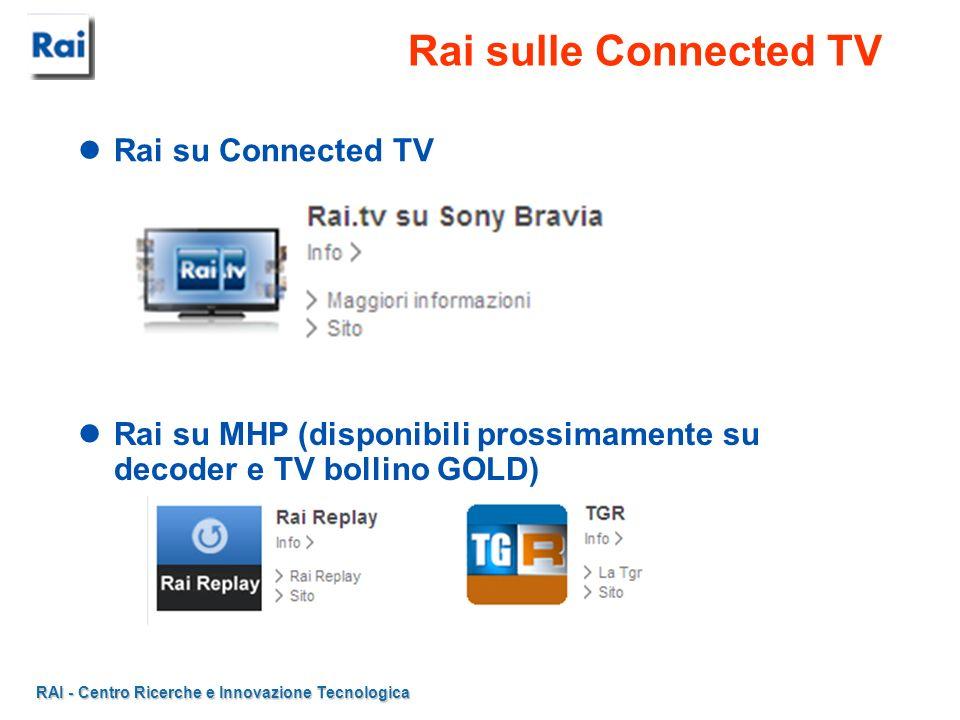 RAI - Centro Ricerche e Innovazione Tecnologica Bollino GOLD in Italia....