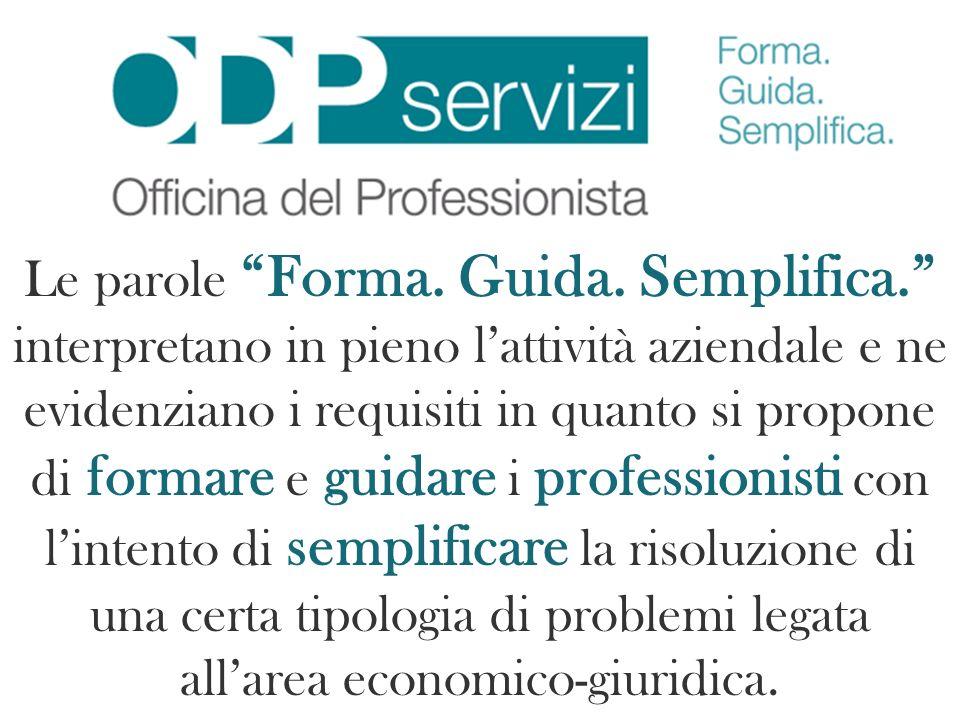 www.odpservizi.it I servizi che intende offrire lODPSERVIZI sono: