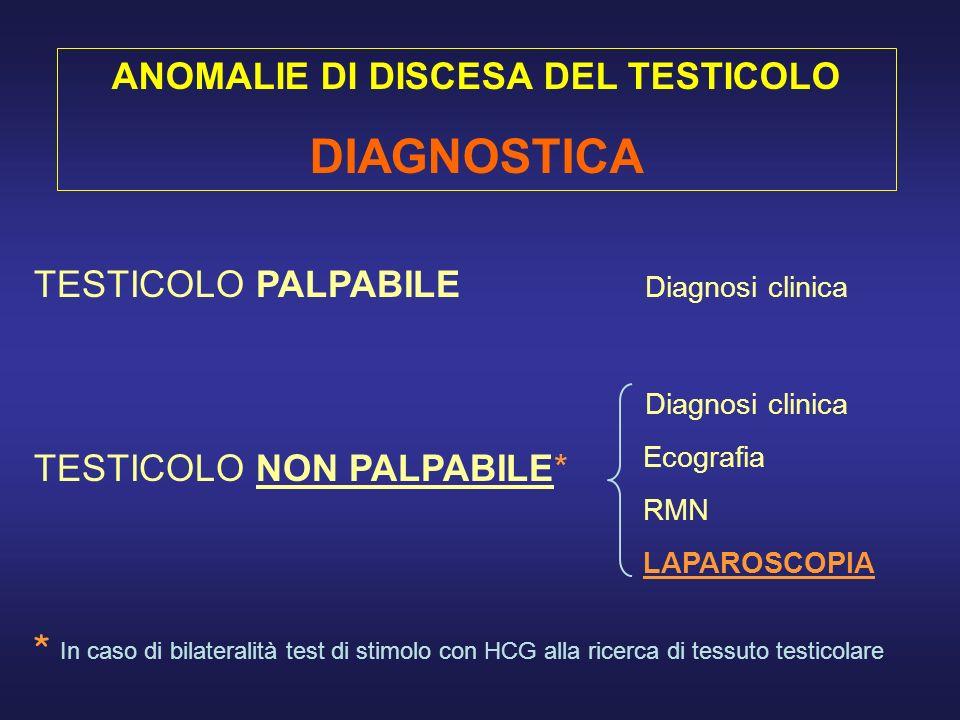 Testicolo endocanalicolareTesticolo endoscrotale Testicolo allanello ing.
