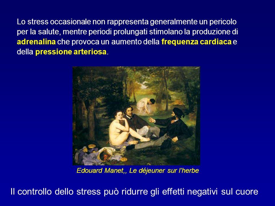 Lo stress occasionale non rappresenta generalmente un pericolo per la salute, mentre periodi prolungati stimolano la produzione di adrenalina che prov