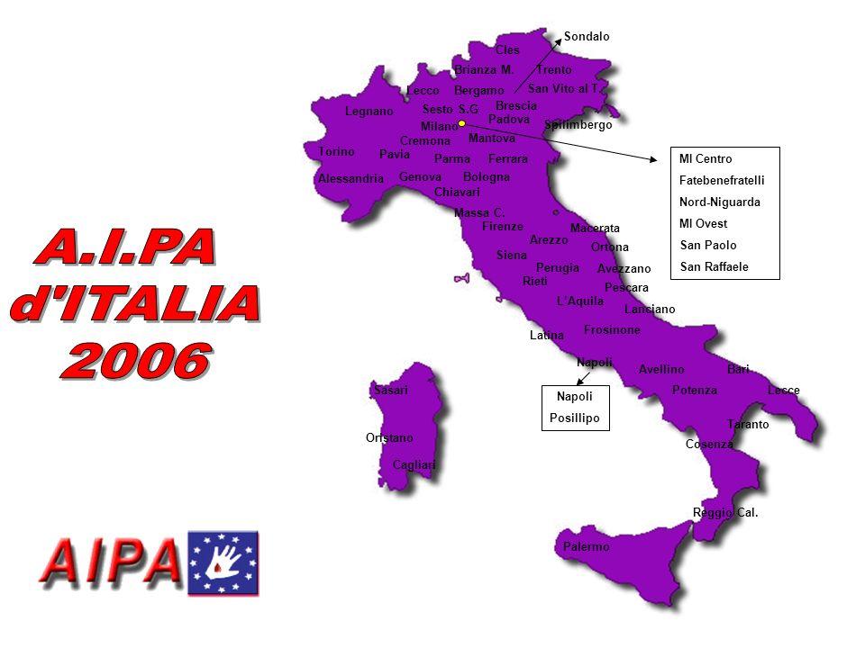 Cagliari Bari Lecce Taranto Cosenza Reggio Cal. Palermo Sasari Oristano Latina Frosinone Napoli Avellino Potenza Napoli Posillipo Macerata Ortona Avez